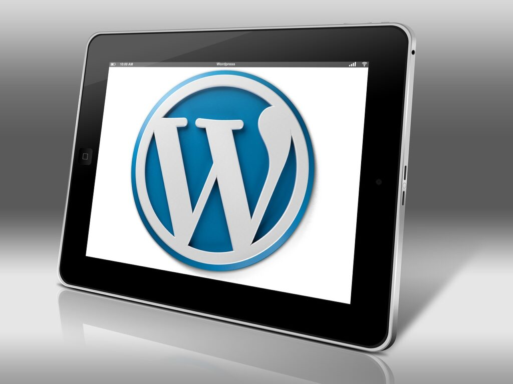 wordpress, blogging, website